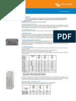 Datasheet GEL and AGM Batteries Ro