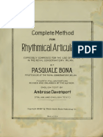 Bona Rhythmical Articulation (dragged)