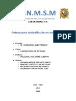 Informe Antenas 9-1