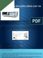 Analizador de Espectros Gsp-730 ANTENAS VALLEJOS