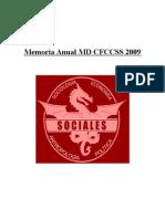 Memoria Final MD CS.SS. 2009