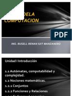 TEORIA D ELA COMPUTACION