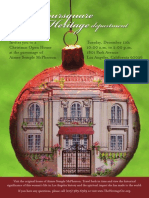 Foursquare Heritage Dept. Christmas Open House