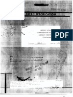 Mercury Capsule Number 2 Configuration Specification (Mercury-Redstone No. 1)