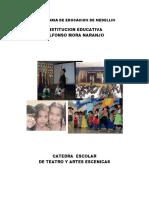 Catedra Escolar de Teatro y Artes Escenicas