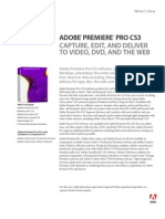 Adobe Premiere Pro CS3 What's New