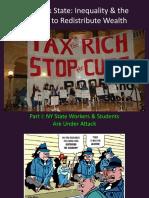 NYS Inequality & Struggle for Redistribution