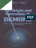 El Origen y Operación de los Demonios por Kenneth E Hagin (TRADUCIDO)