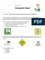 Parent Letter_ Sharing the Planet
