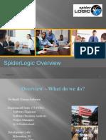 SpiderLogicCorporatePresentation