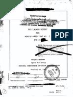 Post Launch Report for Mercury-Redstone No. 2(MR-2)