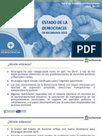 201006. FUNIDES. Presentación. Estado de la democracia en Nicaragua 2020. SEI_2020_02