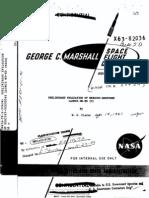 Preliminary Evaluation of Mercury-Redstone Launch MR-BD