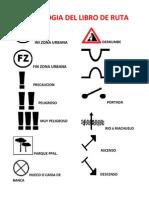 Simbologia que se usara en Rally TT Colombia