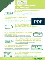 ensino online 7 dicas