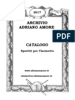 Archivio Adriano Amore - Catalogo Degli