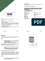 Manual TGR 10 Basic