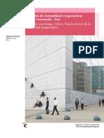 Boletín Actualidad Corporativa No.4 - Ley de la Actividad Aseguradora
