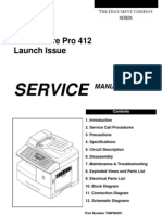 Xerox Work Centre 412 Service Manual