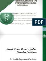 Insuficiência renal aguda e métodos dialíticos.10.08.12