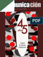 Revista Comunicación   45 años