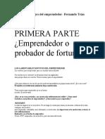 El libro negro del emprendedor- Fernando Trias