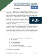 AULA 2 - ADMINISTRAÇÃO DE DROGARIA
