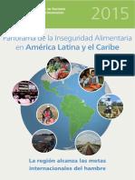 Panorama de La Inseguridad Alimentaria en America Latina