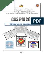 TÉCNICAS DE ABORDAGEM POLICIAL - CAS atualizado