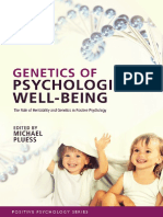(Series in Positive Psychology.) Pluess, Michael - Genetics of Psychological Well-Being_ the Role of Heritability and Genetics in Positive Psychology-Oxford Unive