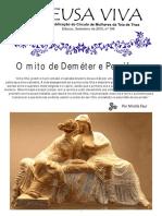 6 O Mito de Demeter e Persefone
