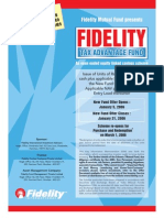 FidelityTax Advantage Fund Application Form