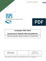 RED - Acquisizione Cittadino