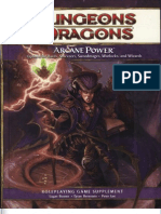 D&D 4E Arcane Power