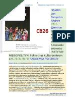 NA ZDROWY ROZSADEK CB26 PANDEMIA PSYCHOZY von Stefan Kosiewski SSetKh 20210202 MBG oddzielenie globalnego od etycznego ME SOWA PDO565 Grupa Windsor