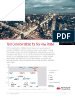 Test Considerations of 5G