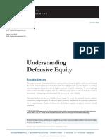 Understanding Defensive Equity