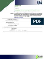 UNI en 932-5 (2001) - Attrezzatura Comune e Taratura