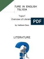(2020) TSL1034(Topic 1) Lit in Eng