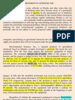 Environmental Sciences Inc. Presentation110216
