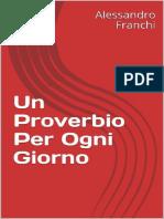 Alessandro Franchi - Un Proverbio Per Ogni Giorno_2017