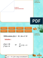 Theorems in differentiation