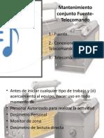 Presentacion Mantencion Equipo Telecomando 2