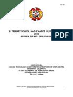 PSMO 2008 CONTEST PAPER