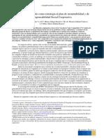 5.6 El Valor Compartido como estrategia al plan de sustentabilidad y de RSC