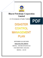 HPCL Disaster Mgmt Control Plan