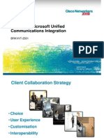 BRKVVT-2501  Cisco & Microsoft Unified Communications Integration