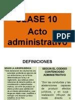 Clase 10 D. ADM. GRAL.