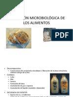 ALTERACIÓN MICROBIOLÓGICA DE LOS ALIMENTOS