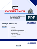 Top tips for writing a dissertation data analysis